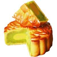 Bánh dẻo Givral trà xanh (Không trứng) 250g