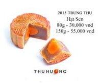 Bánh dẻo Thu Hương hạt sen - 80g