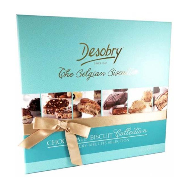 Bánh Desobry The Belgian Biscuitier Chocolate Biscuit Collection 220g