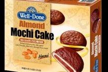 Bánh gạo hàn quốc socola kem lạc Samjin - Well Done Peanut Mochi Cake
