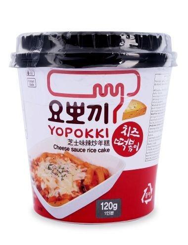 Bánh gạo Topokki sốt phomai Yopokki (cốc 120g)