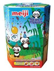 Bánh gấu Hello Panda sữa hộp giấy 260g