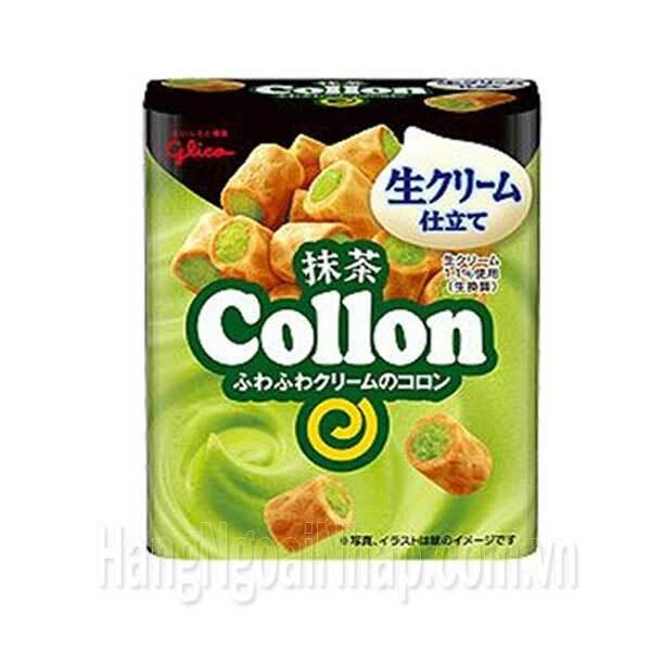 Bánh Glico nhân trà xanh – hộp 56g
