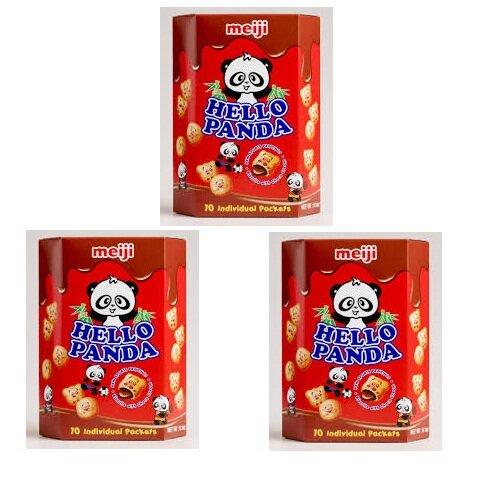 Bánh Hello Panda Bannana hiệu Meiji 50gr