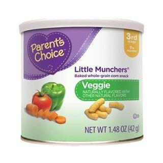 Bánh ngũ cốc Parents Choice vị rau củ