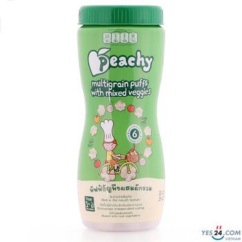 Bánh ngũ cốc rau củ thập cẩm Peachy 40g