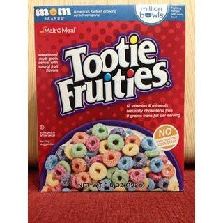 Bánh Ngũ Cốc Tootie Fruities 192g