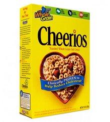 Bánh ngũ cốc yến mạch cheerios - 576 gram