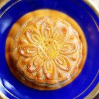 Bánh nướng Đồng Khánh đậu xanh lá dứa 2 trứng 210g