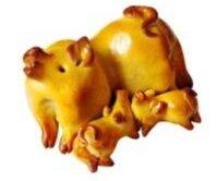 Bánh nướng Đồng Khánh heo con 50g