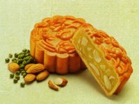 Bánh nướng Kinh đô đậu xanh hạnh nhân 150g (bánh chay)