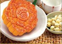 Bánh nướng Kinh đô hạt sen trà xanh 1 trứng 150g