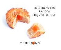 Bánh nướng Thu Hương sữa dừa