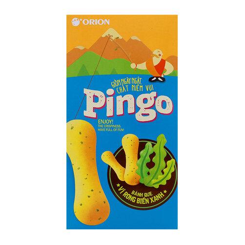 Bánh que vị rong biển xanh Pingo Orion hộp 57g
