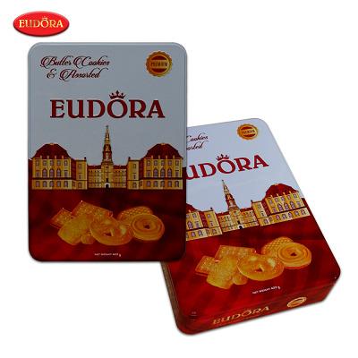 Bánh quy bơ hỗn hợp Eudora – hộp thiếc 423g