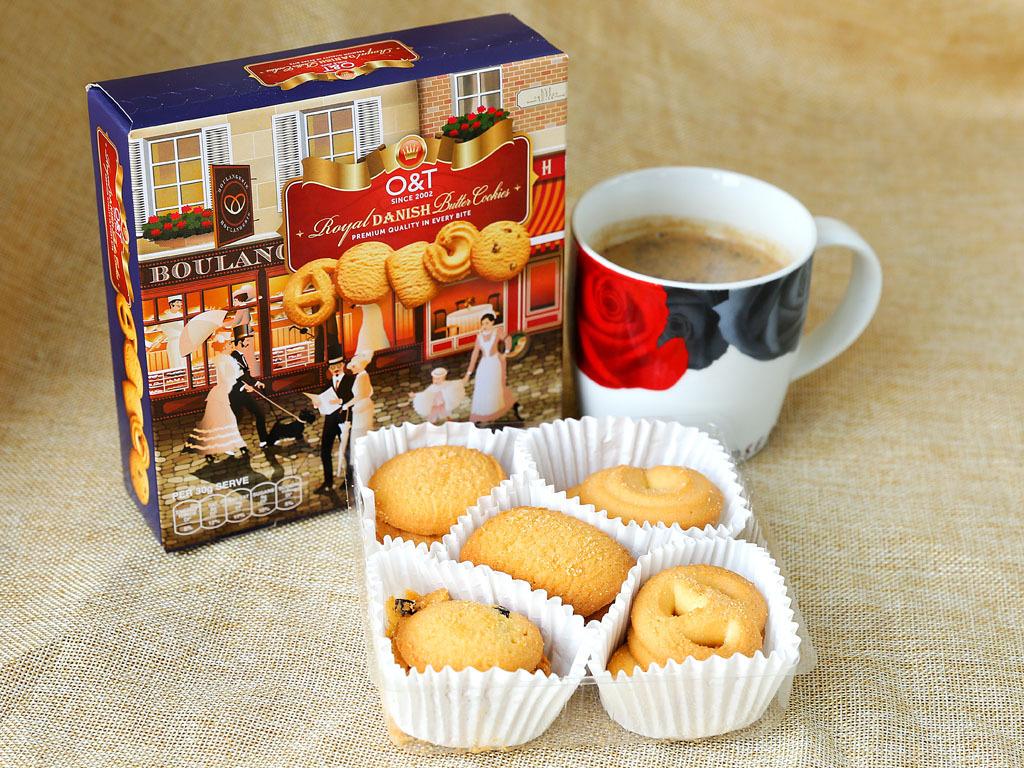 Bánh quy bơ O&T Royal Danish – hộp 110g
