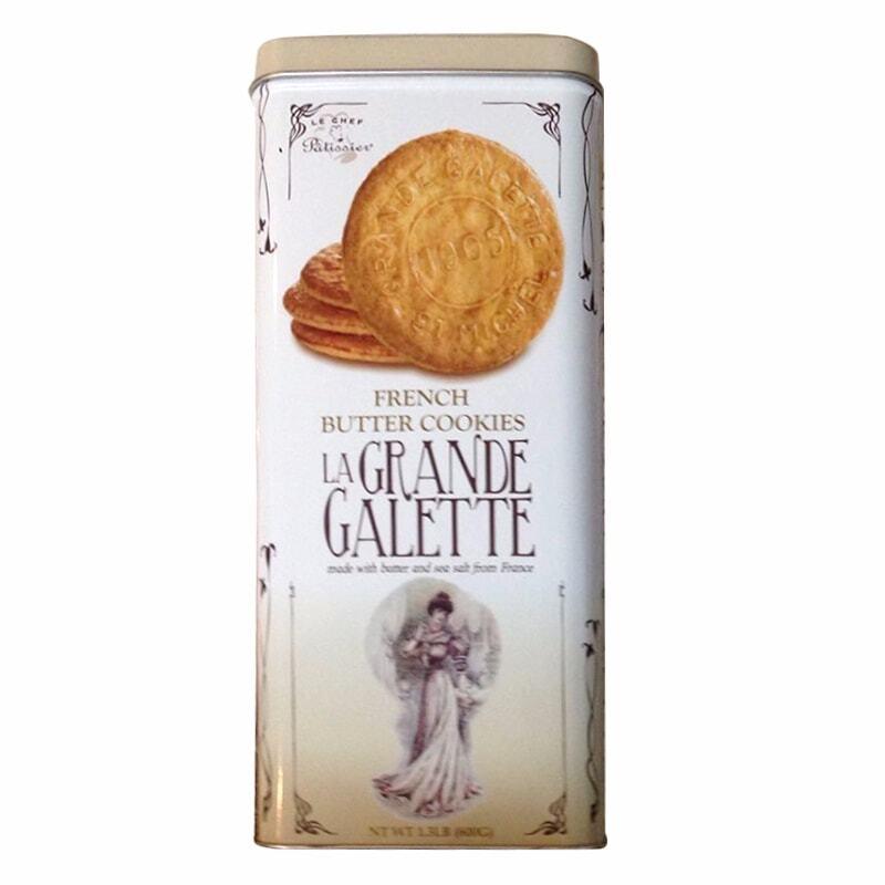 Bánh quy bơ Pháp La Grande Galette French Butter Cookies 600g