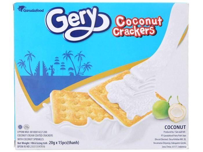 Bánh quy dừa Gery – 70g