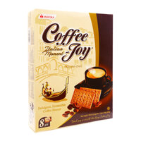 Bánh quy vị cà phê hảo hạng Coffee Joy hộp 180g