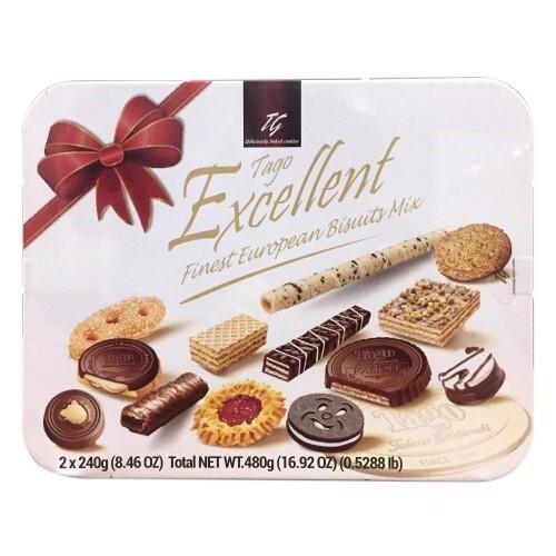 Bánh Tago Excellent Finest European Biscuits Mix 480g