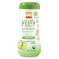 Bánh tập nhai dinh dưỡng cho bé Happy Baby vị táo (Apple Organic puffs)