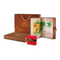 Bánh trung thu cao cấp Minh Nguyệt Bibica hộp 6 cái x 150g