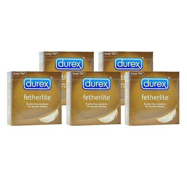 Bao cao su Durex Fetherlite hộp 3 cái