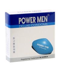 Bao cao su Power Men Viagra Type (Hộp 3 chiếc)
