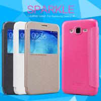 Bao da cao cấp Sparkle cho Samsung Galaxy J5 hiệu Nillkin...