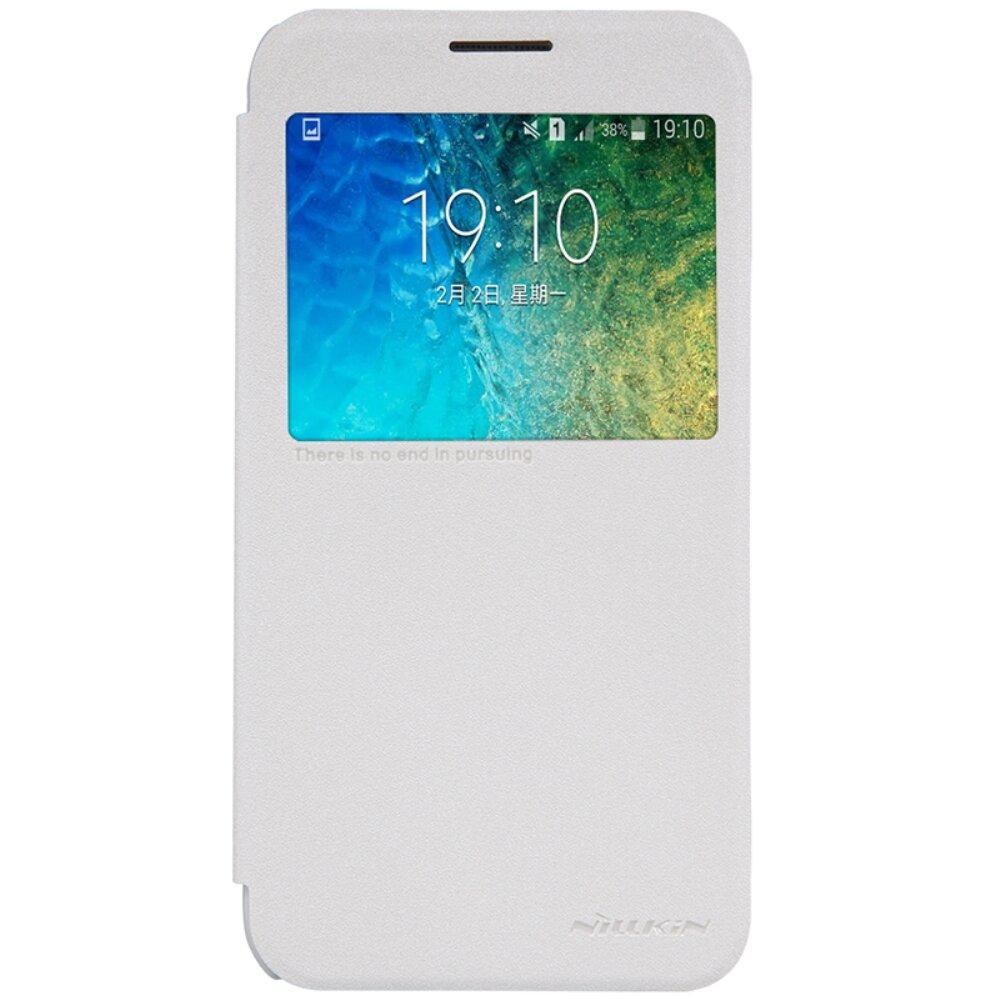 Bao da cho điện thoại Nillkin Samsung Galaxy E500 E5