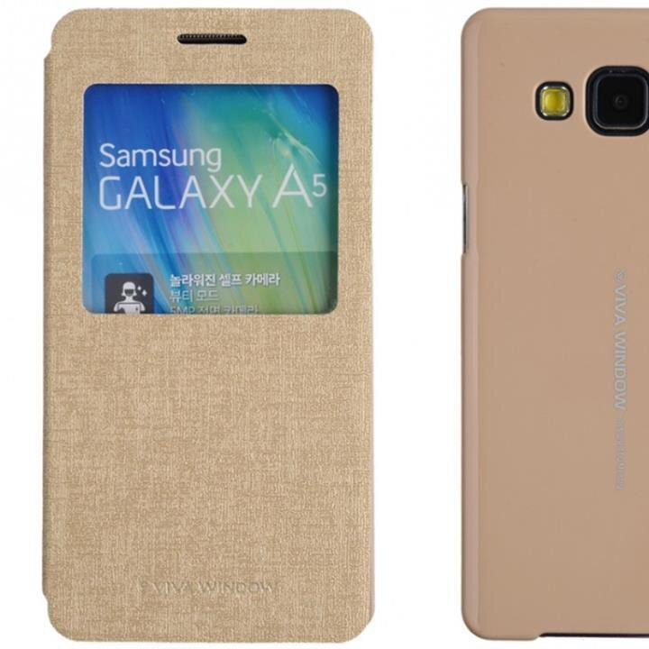 Bao da Galaxy A5 hiệu Viva window