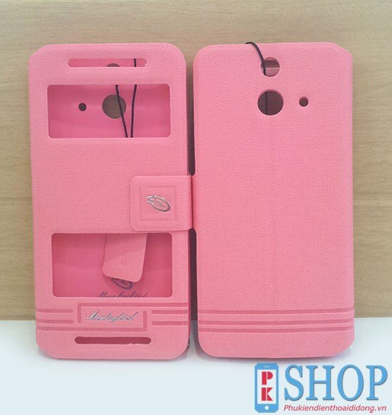 Bao da HTC One E8 hiệu manleybird