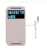 Bao da HTC One M8 NILLKIN Sparkle
