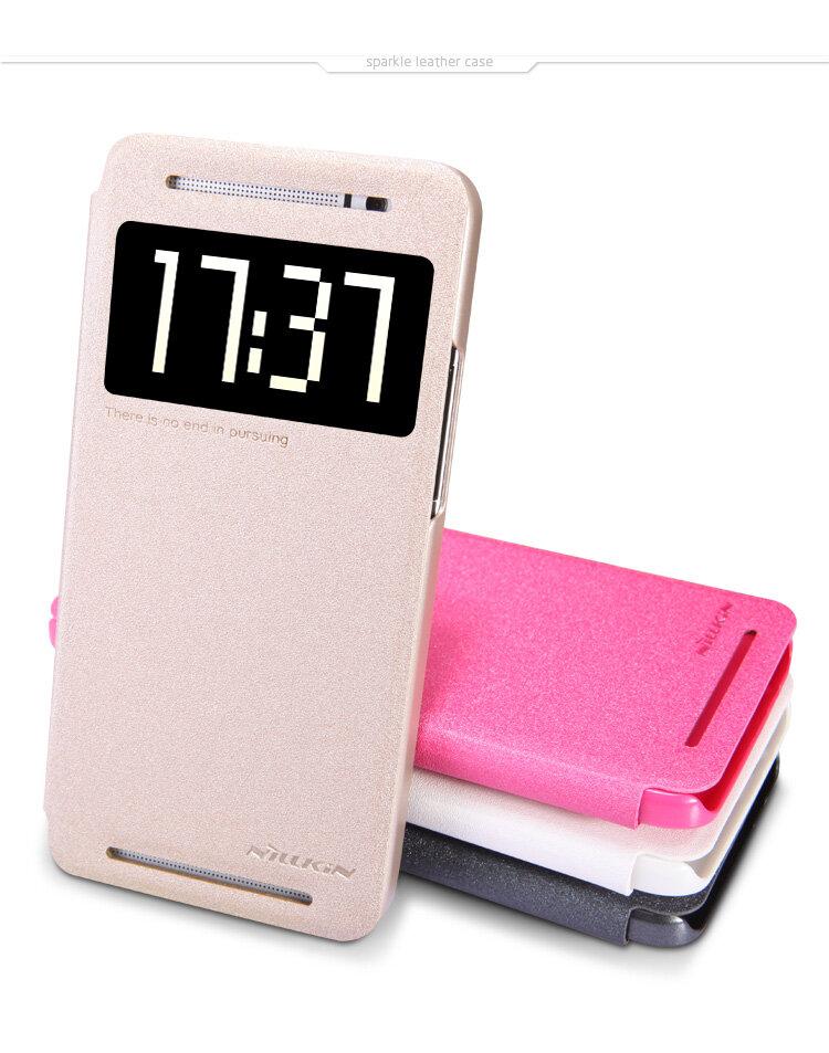 Bao da Nillkin Sparkle HTC One E8