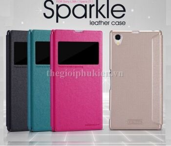 Bao da Sony Xperia Z1 L39h Nillkin Sparkle