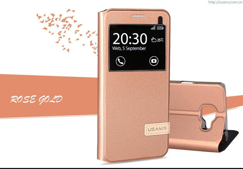 Bao da Sview Samsung A9 hiệu Usams