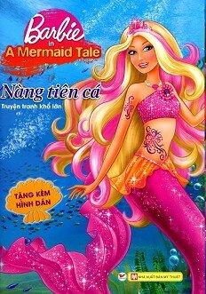 barbie nàng tiên cá truyện tranh khổ lớn