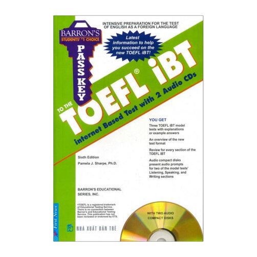 Barron's - Pass Key To The Toefl iBT (Kèm 2CD)