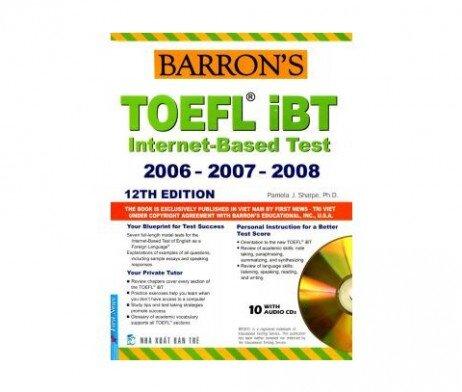 Barron's Toefl IBT Internet Based Test 12th (Sách+10CD)