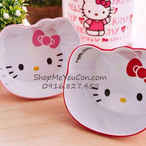 Bát ăn cơm Hello Kitty SPKT27