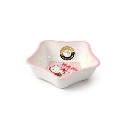 Bát ăn súp hình ngôi sao bằng nhựa Hello Kitty Lock&Lock LKT457 (LBB457)