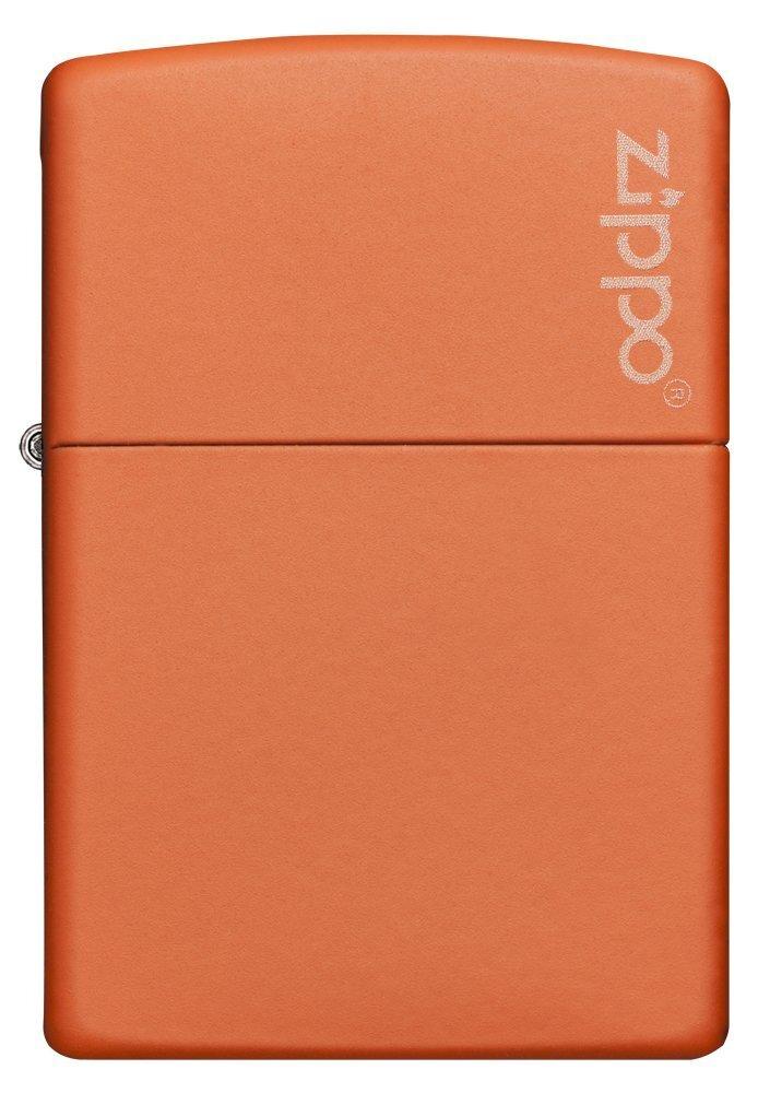Bật lửa Zippo Orange Matte W/Zippo Logo 231ZL