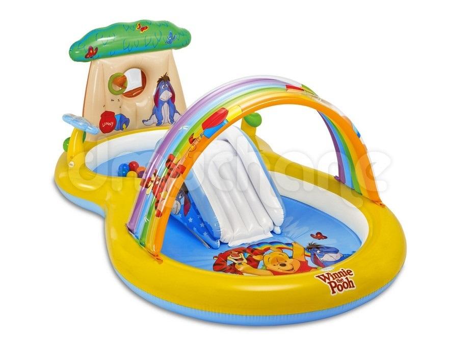 Bể bơi cầu trượt Intex 57136