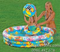 Bể bơi đại dương kèm phao và bóng Intex 59431