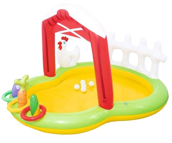 Bể bơi phao Bestway 53065 – hình cánh cổng nông trại