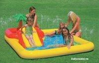 Bể bơi phao cầu trượt INTEX 57454