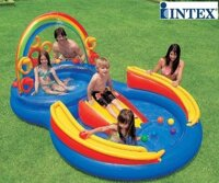 Bể bơi phao có cầu trượt INTEX 57453