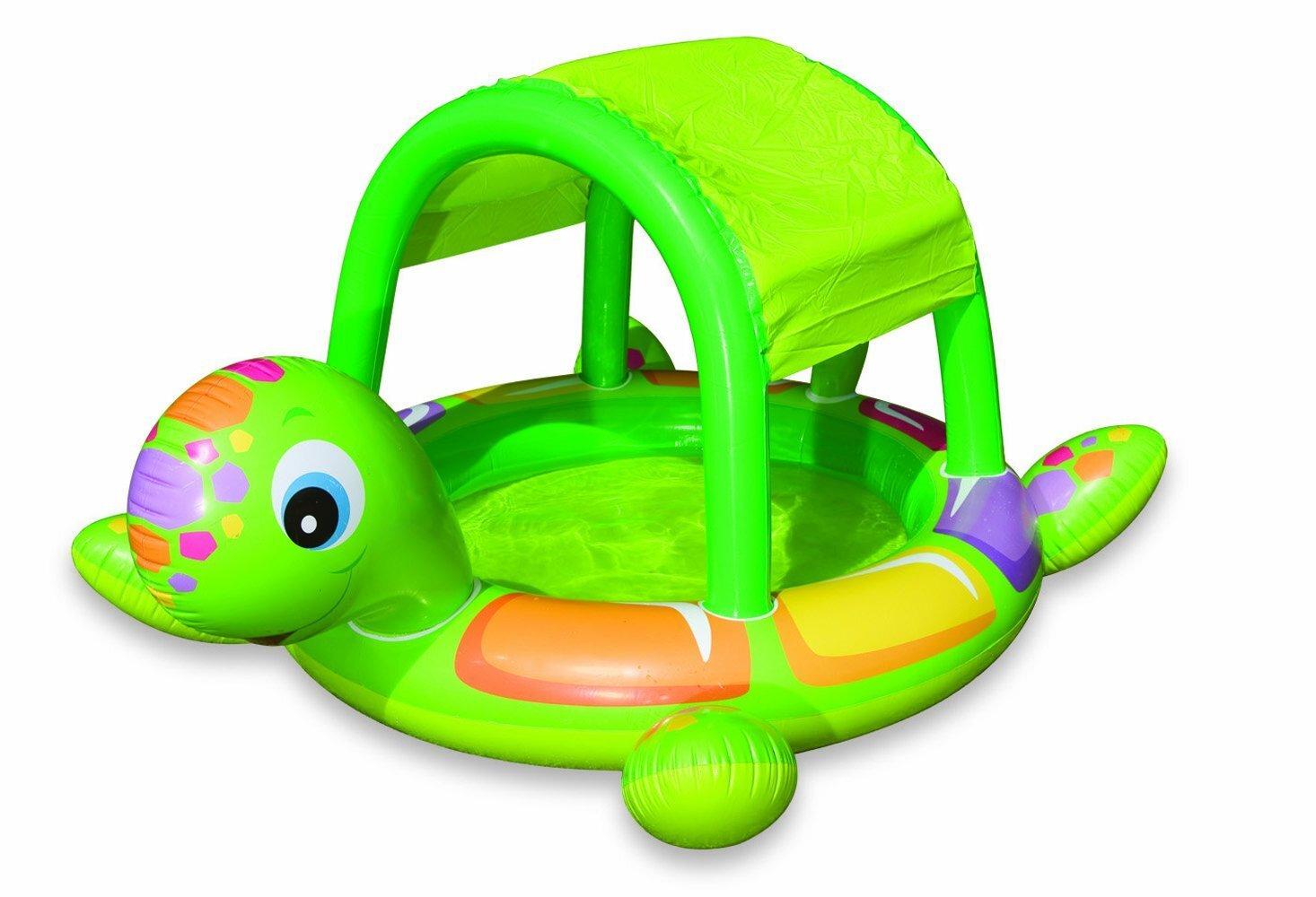 Bể bơi phao mái che hình rùa intex 57410