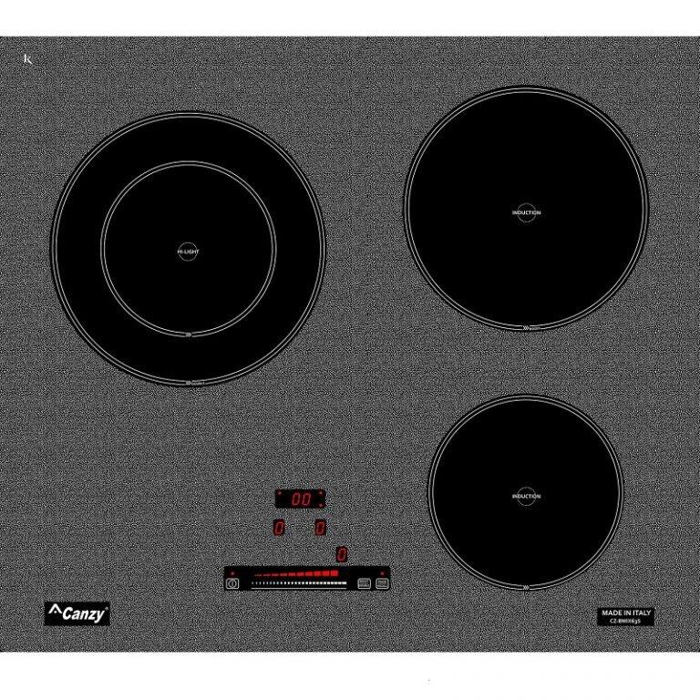 Bếp điện từ Canzy CZ- BMIX63S - 2 điện từ 1 hồng ngoại