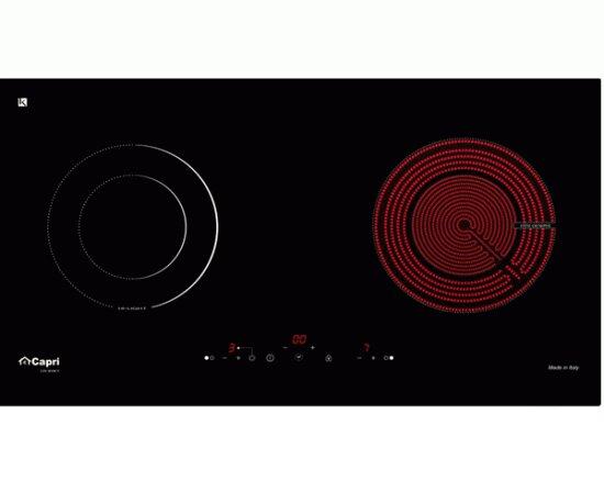Bếp điện từ Capri CR-811KT - 1 bếp từ, 1 hồng ngoại